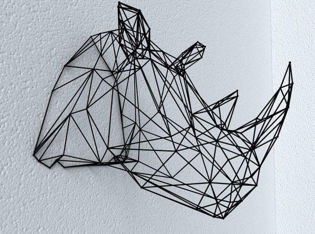 Rhino Wire Trophy in Gray PA12