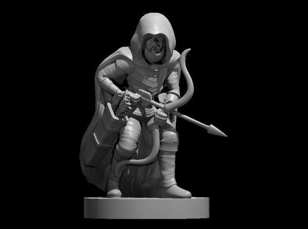 Gnome Ranger in Smooth Fine Detail Plastic