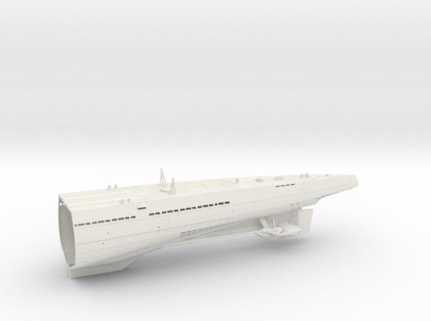 1/100 Uboot Hull Fore Aft IXC U-505