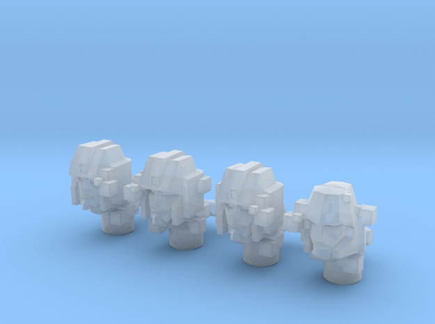 Seeker Squad Holograms (Siege) in Smooth Fine Detail Plastic