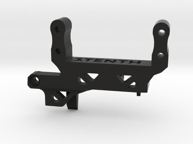 Servo Mount V4 Traxxas TRX4 Portal AMS SOA in Black Natural Versatile Plastic