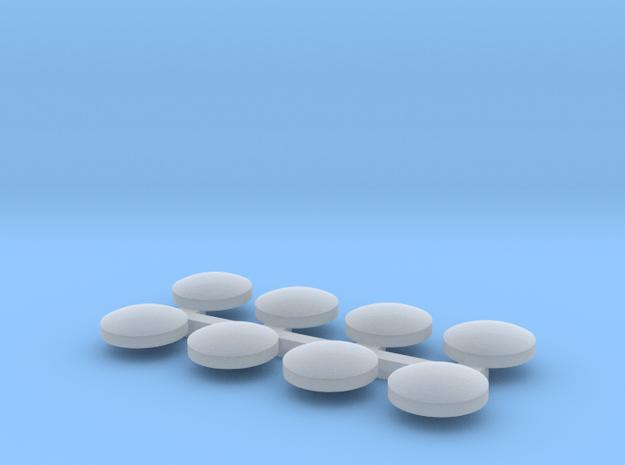 Handlan 4-Way LENSES sprued 1-20 in Smooth Fine Detail Plastic: 1:20