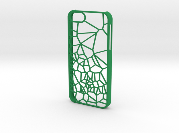 Transition iPhone 5/5s case in Green Processed Versatile Plastic