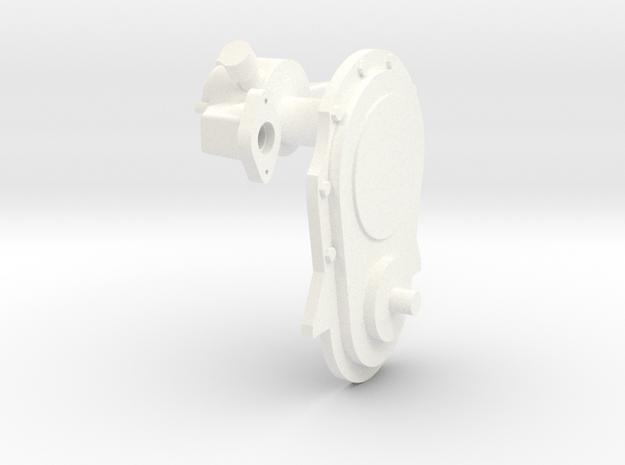 Brodix BBC fc & elec wp 1/8 in White Processed Versatile Plastic
