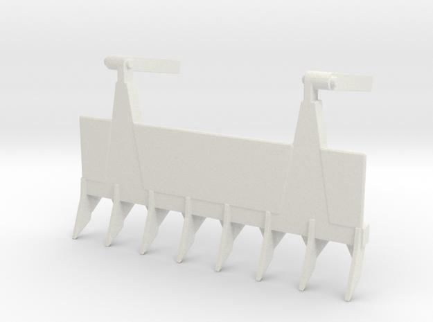 1/72 Scale USA Dozer Attachment in White Natural Versatile Plastic