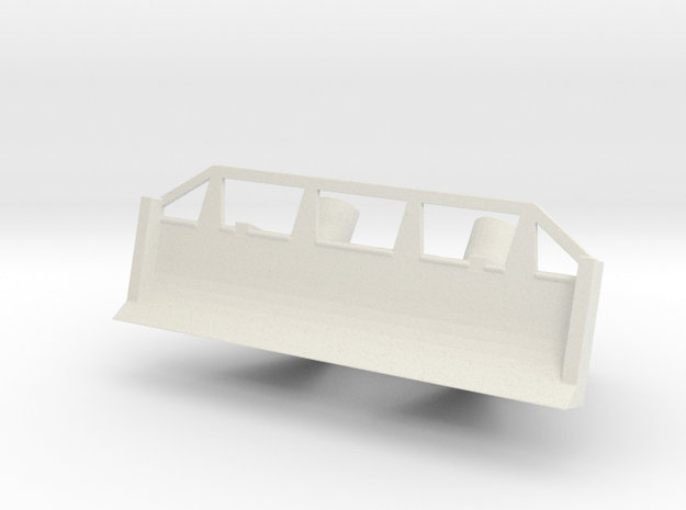 1/72 Scale Rome Dozer Kit in White Natural Versatile Plastic