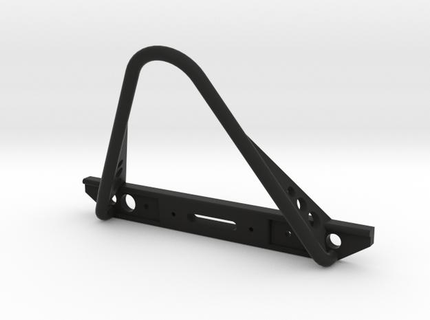 J2 Front Bumper V4.1a w/ Stinger in Black Natural Versatile Plastic