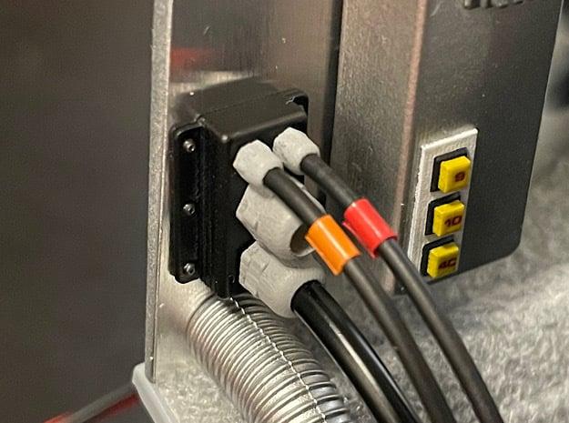 1:8 BTTF DeLorean Wire Trunks in Smoothest Fine Detail Plastic