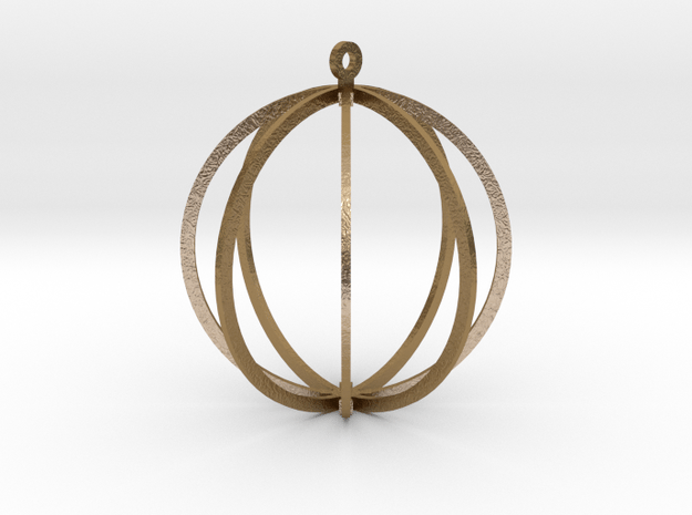 NUCLEUS in Polished Gold Steel