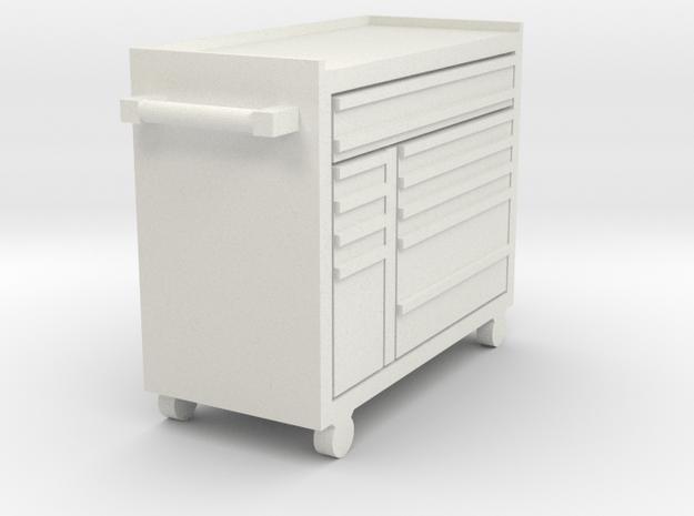 1/64 11-drawer masters series toolbox in White Natural Versatile Plastic