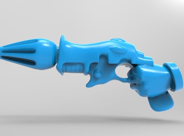 Space Elf Harlequin - Fusion Pistol With LEFT Hand in Smooth Fine Detail Plastic