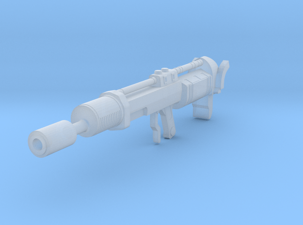 Oppressor flamethrower 3.75 scale in Smooth Fine Detail Plastic