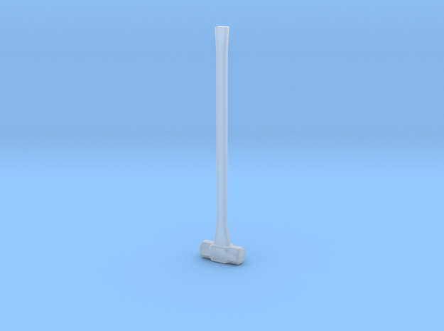 1:25 Scale Sledge Hammer in Smooth Fine Detail Plastic