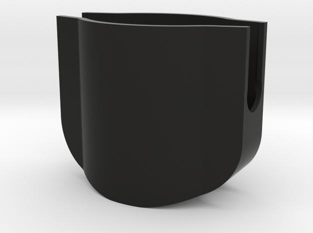 Cap for Z1 Cage in Black Natural Versatile Plastic