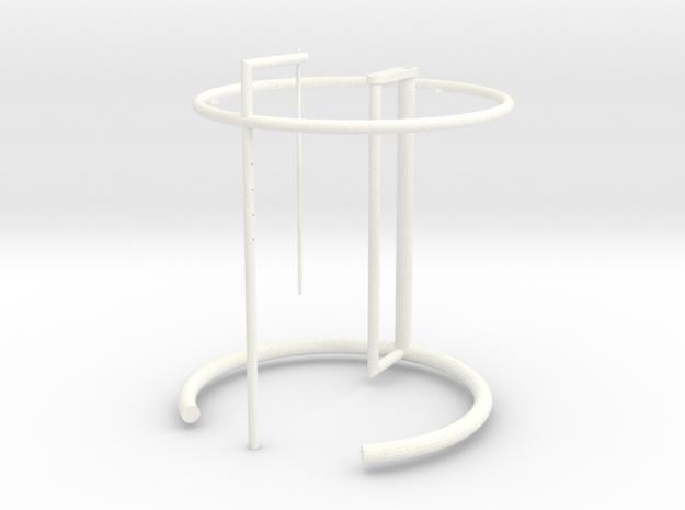 02_E1027_EileenGray in White Processed Versatile Plastic