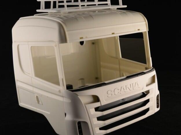 Tamiya truck roof rack  1/14 in White Processed Versatile Plastic