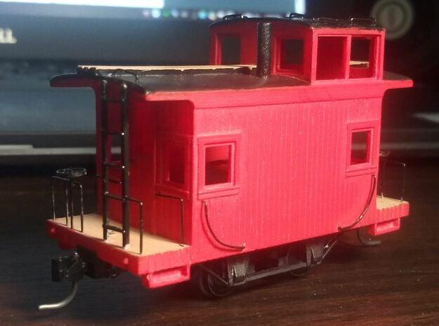 Uintah bobber caboose #1 in Smooth Fine Detail Plastic