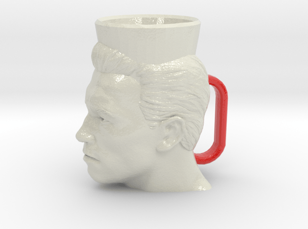 Arnold Schwarzenegger Cofee Cup XL in Glossy Full Color Sandstone