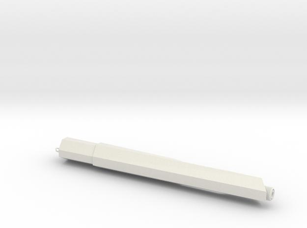 Supertrooper/Pre-Pro #1 Flamethrower in White Natural Versatile Plastic