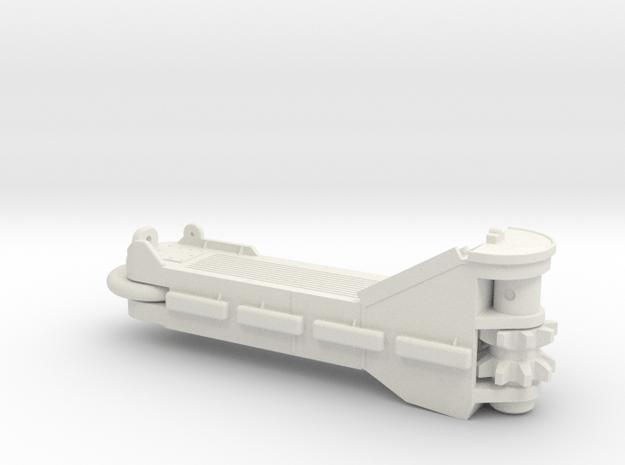 HO P&H Mining Shovel Crawler in White Natural Versatile Plastic