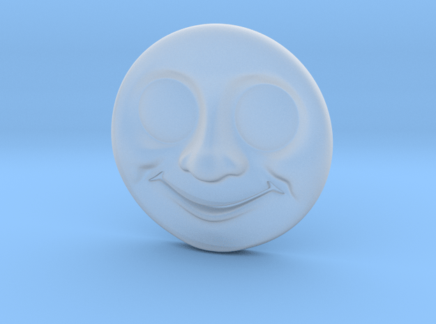 Thomas Face V2 (Dalby) O in Smooth Fine Detail Plastic