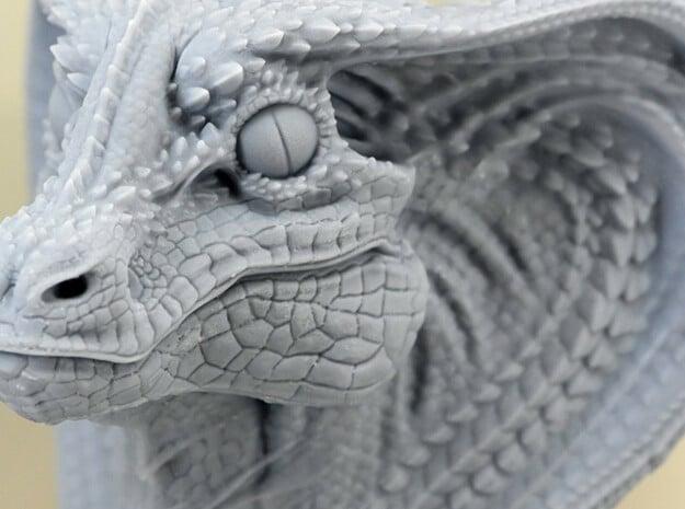 SnakeDragon_D in White Natural Versatile Plastic