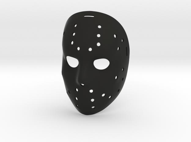 Jason Okey Mask in Black Natural Versatile Plastic
