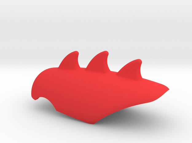 Carta BodyArmor - Cat form for use on Guenhwyvar  in Red Processed Versatile Plastic