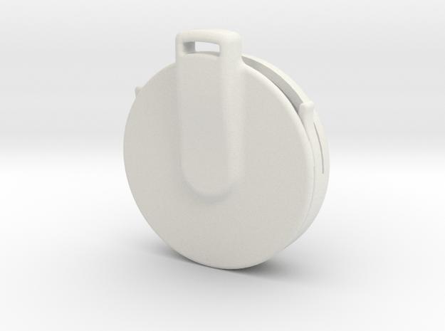 AirTag Case - Pendant in White Natural Versatile Plastic