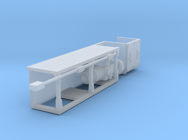 (1:76) Class 86 Underframe (with One Compressor) in Smooth Fine Detail Plastic