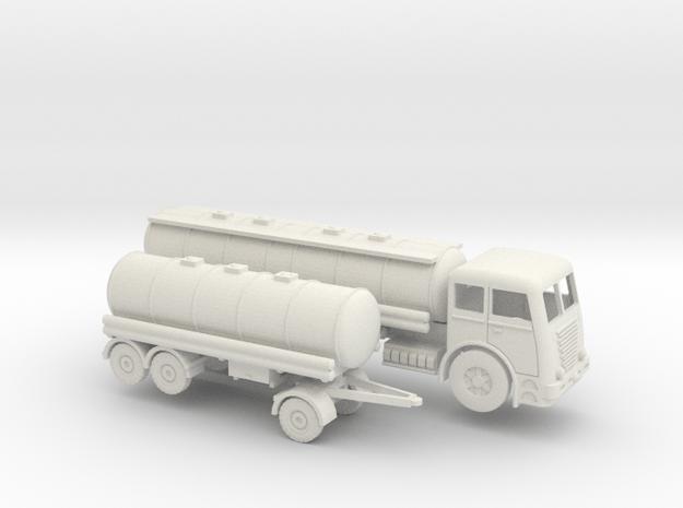 1/144 Büssing U12000 Tankwagenset  in White Natural Versatile Plastic
