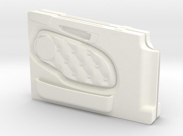 Doorpanels for Tamiya Scania 1/14 in White Processed Versatile Plastic