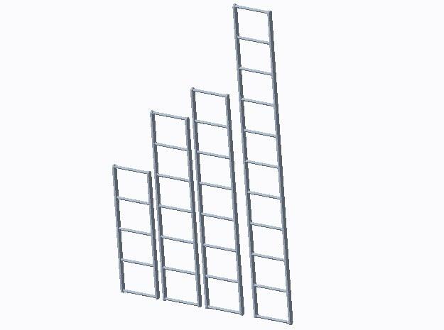 Leitersatz Typ-A 1:40 in Smooth Fine Detail Plastic