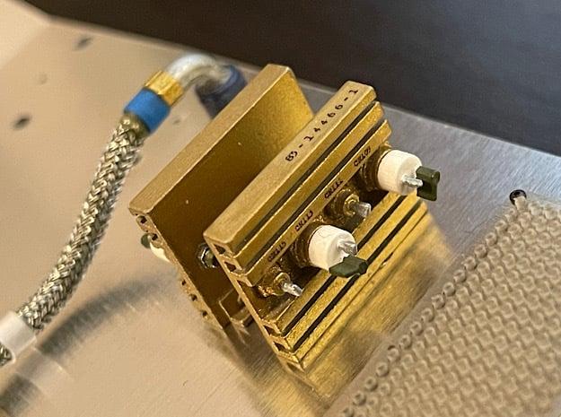 1:8 BTTF DeLorean Heatsinks in Smoothest Fine Detail Plastic