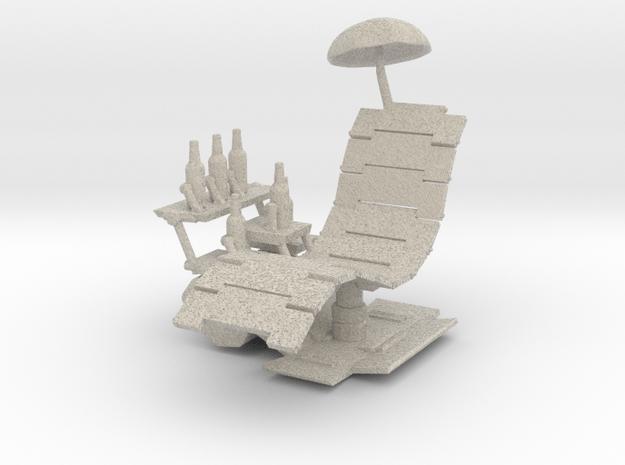 Rancho Relaxo BLU(for NECA figurine) in Natural Sandstone