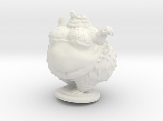 Palla in White Natural Versatile Plastic