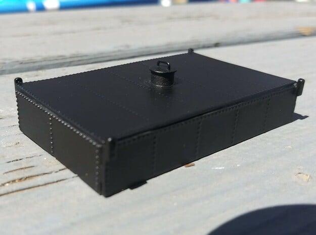 HO Tender Oil Bunker Kit in Smooth Fine Detail Plastic