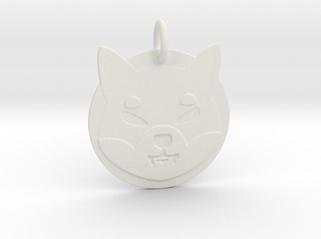 shiba token - memecoin in White Natural Versatile Plastic