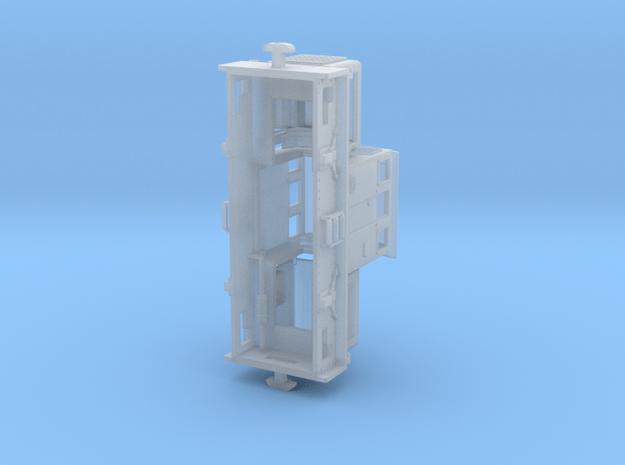 Freelance diesel shunter type-3 in Smoothest Fine Detail Plastic