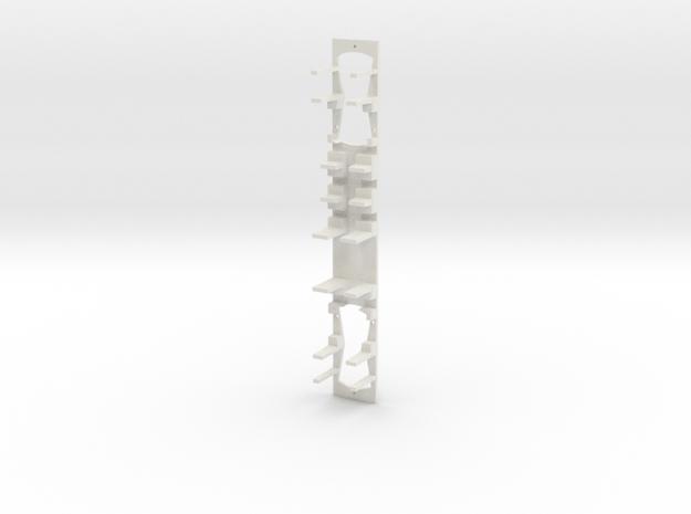 AOMC Chassis pour automotrice Be 4/4 101 ex-BLT in White Natural Versatile Plastic
