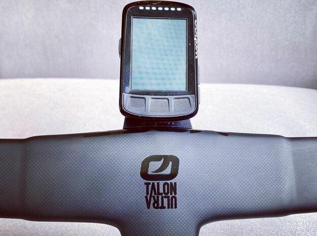 Wahoo Elemnt Bolt Talon Ultra Mount in Black Natural Versatile Plastic
