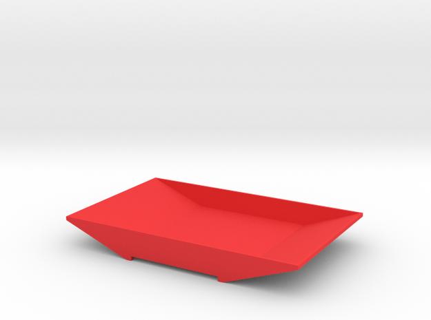 TORii PLATTER in Red Processed Versatile Plastic