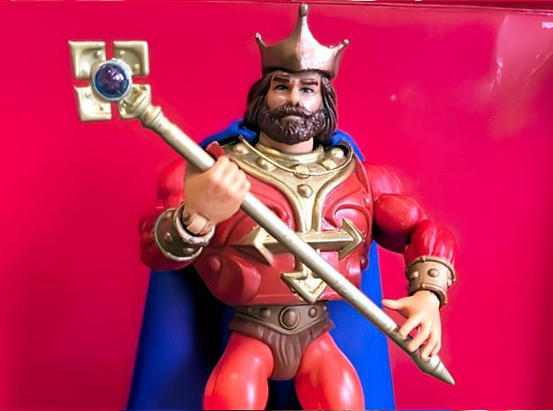 King Randor's Staff for Origins (MOTU) in Smoothest Fine Detail Plastic