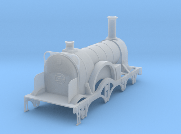 Lord of the Isles GWR Broad Gauge 4mm in Smooth Fine Detail Plastic