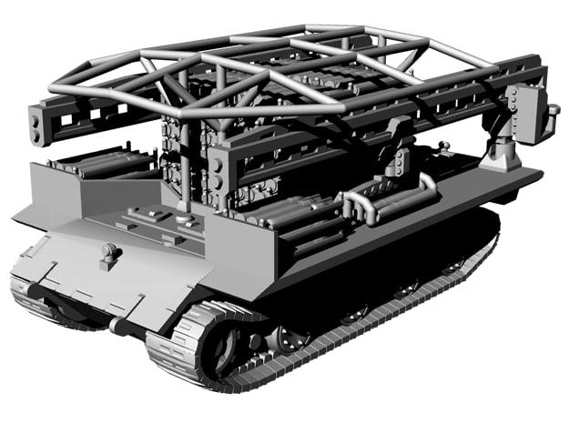1/144 Flak E100 Ammunition Carrier in Gray PA12