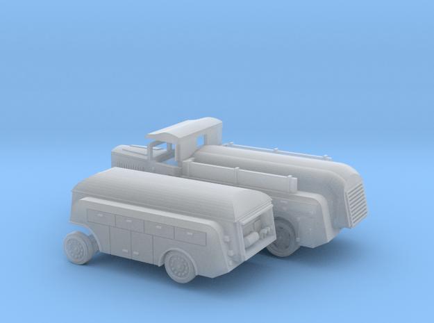 1/160 Tankwagenset Luftwaffe in Smooth Fine Detail Plastic