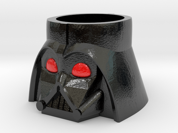 Darth Vader Cup in Glossy Full Color Sandstone