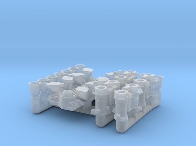 1/25 Weber IDA carbs,SBC intake in Smooth Fine Detail Plastic