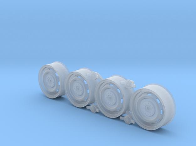 300SL Rudge Wheel in Smoothest Fine Detail Plastic