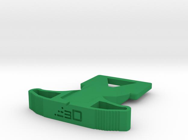 M27 Priming Handle for Nerf Hyper Rush-40 Blaster in Green Processed Versatile Plastic